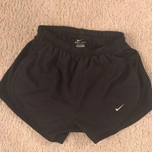 Nike Black Tempo Shorts Women Xtra Small